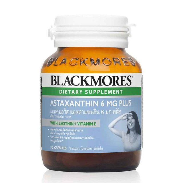 BLACKMORES  ASTAXANTHIN 6 MG PLUS 30 แคปซูล (CR)
